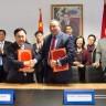 Signature d'une Convention de Coopération entre L'Université Mohammed VI des Sciences de la Santé  et L'Académie d'Ingénierie de Chine