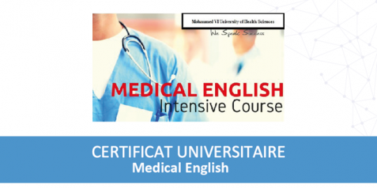 Cover Certifcat Medical English